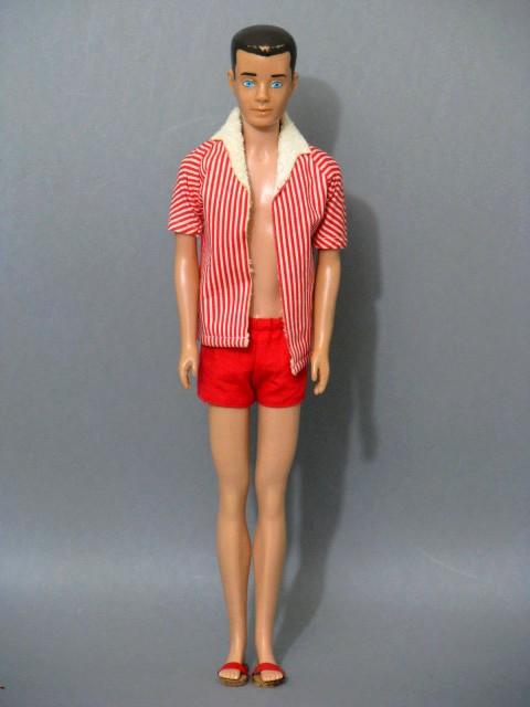 modepuppe barbie ken 1960 mattel 1958 japan mit ovp ebay. Black Bedroom Furniture Sets. Home Design Ideas